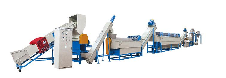 PE/PP Waste Film Crushing and Washing Production Line