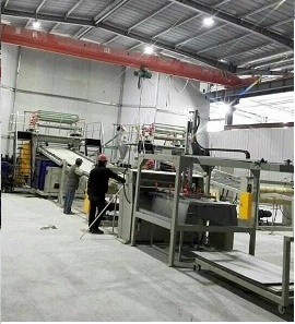 PVC+WOOD FLOOR(SPC) ONE-STEP EXTRUSION LINE