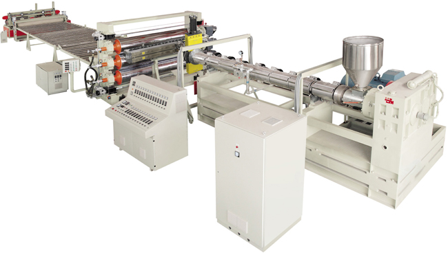 PE PP BOARD EXTRUSION LINE