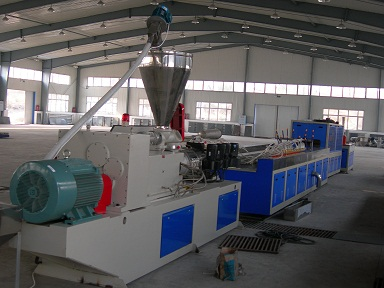 PVC+wood Wall-protected sheet production line