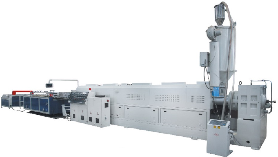 PE-WOOD DOOR BOARD EXTRUSION LINE