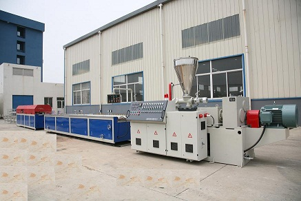 WPC(PVC+wood)  Foamed profiles or board Extrusion Line